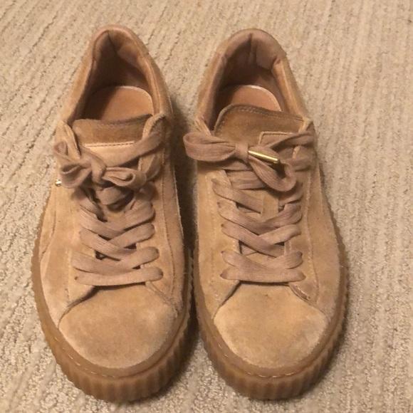 promo code 07d06 d9958 Tan Puma Creeper sneakers